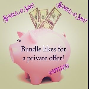 Other - Bundle your likes!!
